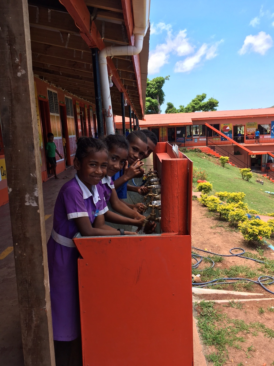 Post cyclone rehabilitation of remote school water supply and sanitation facilities, Fiji.