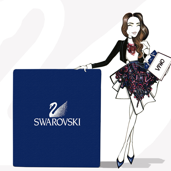 Swarovski Illustration