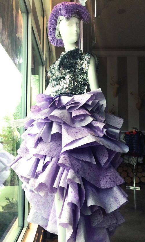 Paper Dress WNTR14 — Salt Lake Supply & Design