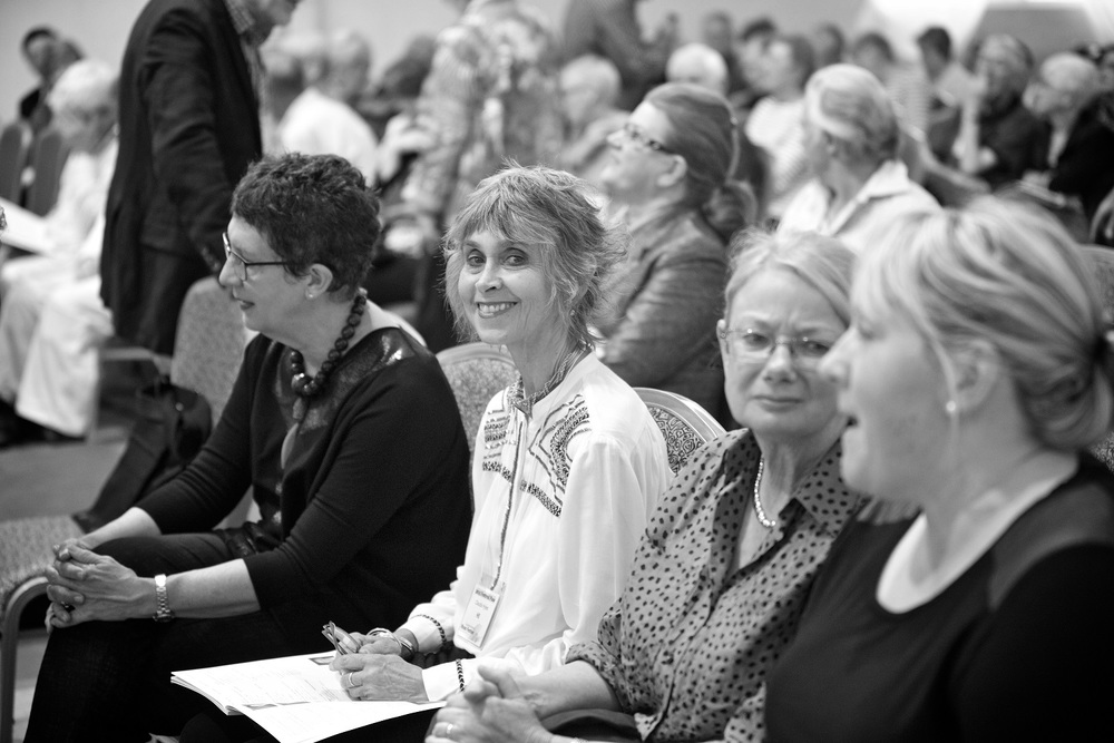 Audience member at the 2015 Festival. Photo by William Hall.