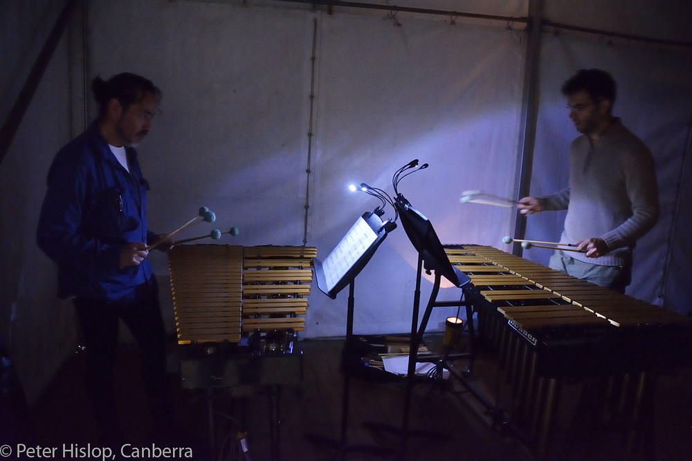 CIMF 2016 - Con 01 - Rehearsal with Tambuco Percussion. 