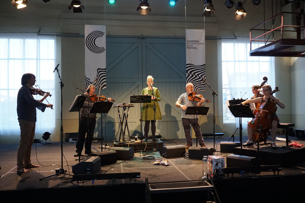 CIMF 2016 - Concert 03 - With Love and Fury. Sound Check. 