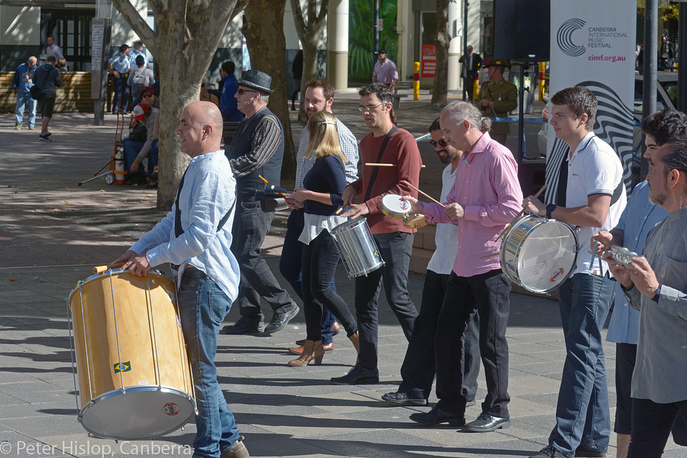 CIMF 2016 - Concert 14 - Garema Place. 