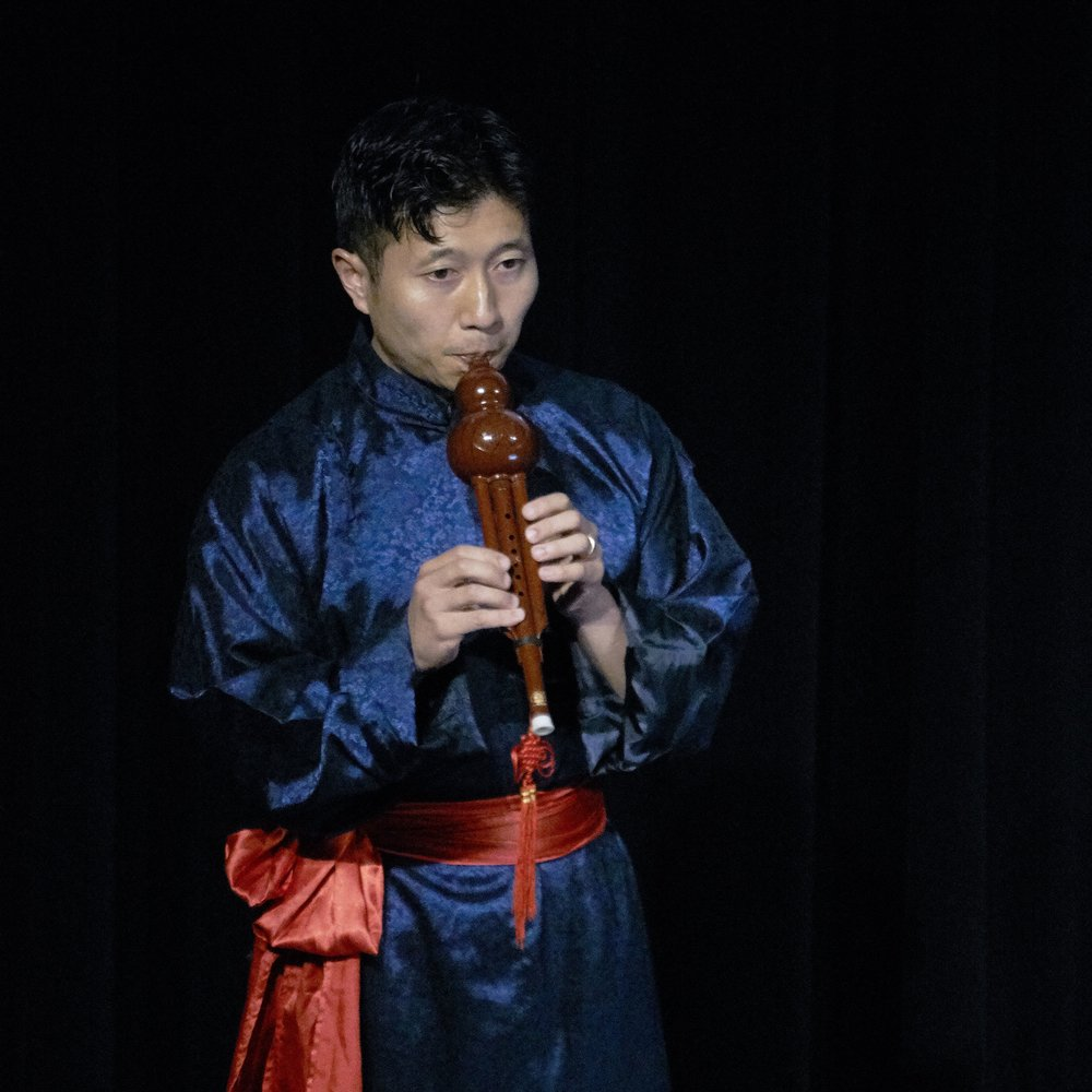 Nicholas Ng performing at the 2017 Festival launch. Photo by Peter Hislop
