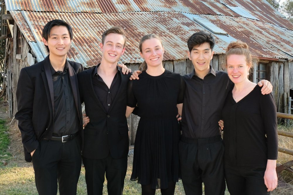 Some of the 2016 Young Artists