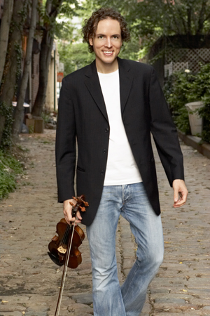 New York based violinist Tim Fain