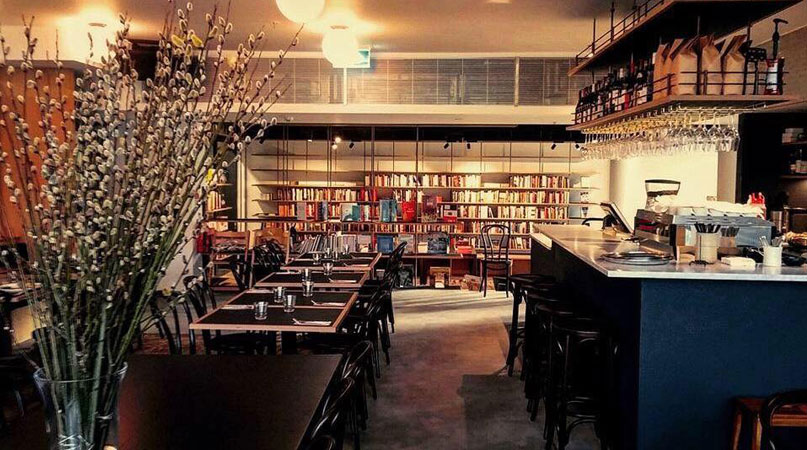 """Muse Canberra: """"a light and airy space with a relaxed atmosphere by day and an understated elegance at night, its very easy to lose yourself in a good book and glass of wine."""" - Out In Canberra"""