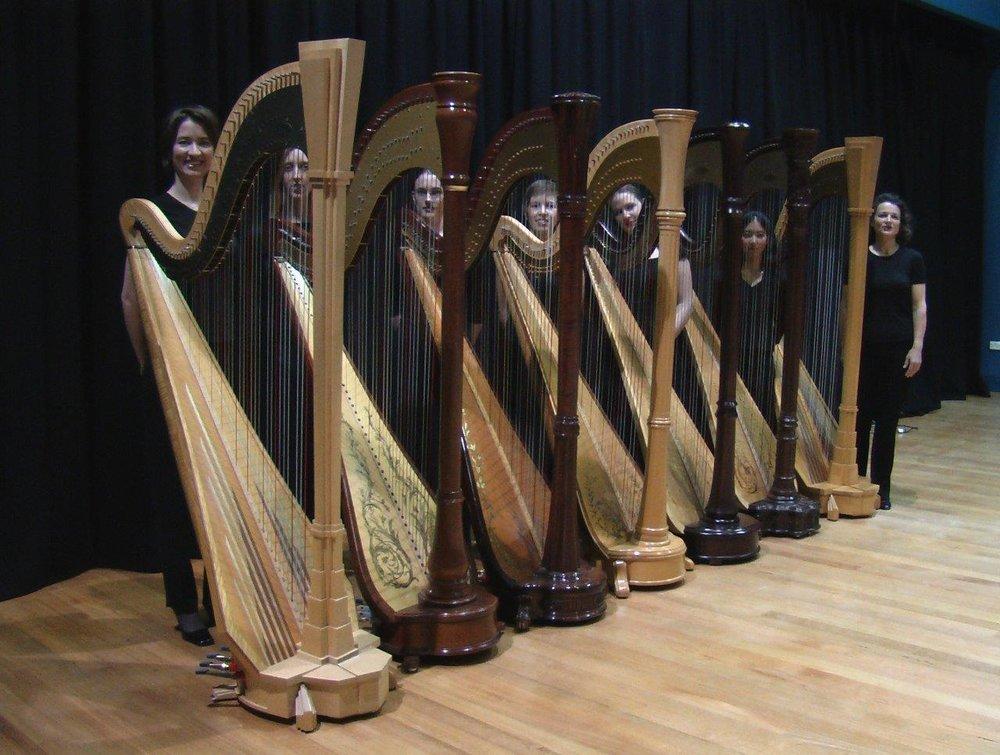 Seven Harp Ensemble