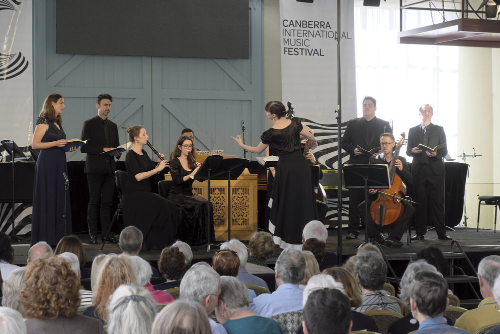Concert 5: Bach on Sunday. Photo by Peter Hislop.