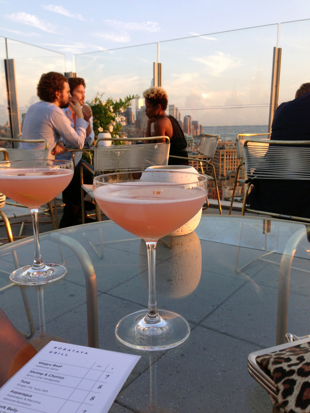 Rooftop Cosmopolitans in New York City - bucket list tick!