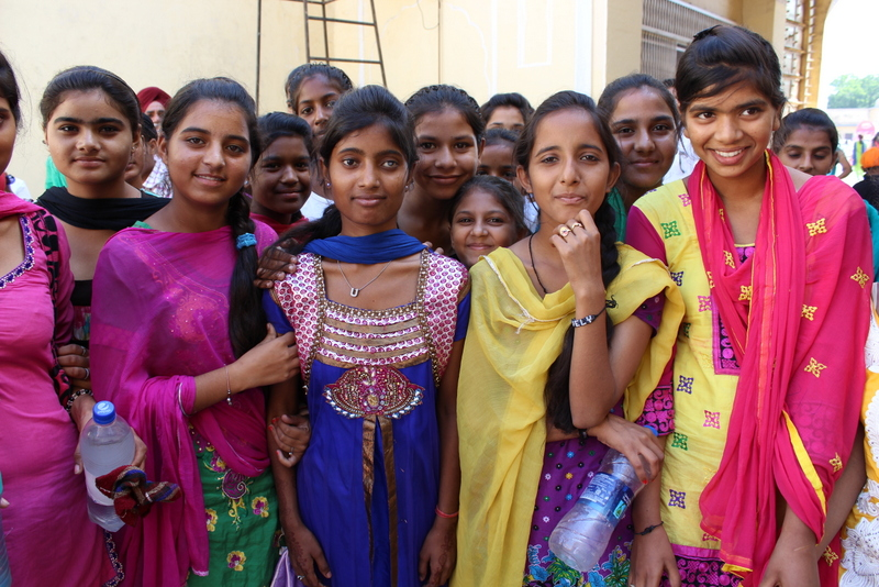 The beautiful faces of some of the people I met on my India trip this year.