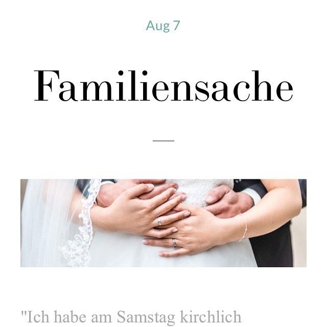 #unglaublichundwahr - Traurig, was manchen Paaren am schönsten Tag passiert, wenn die Familie nicht einen Tag zusammenhalten kann.  _ #familiensache #hochzeitsgeschichte #kirchlichetrauung #traurigaberwahr - Story auf dem Blog 🔝