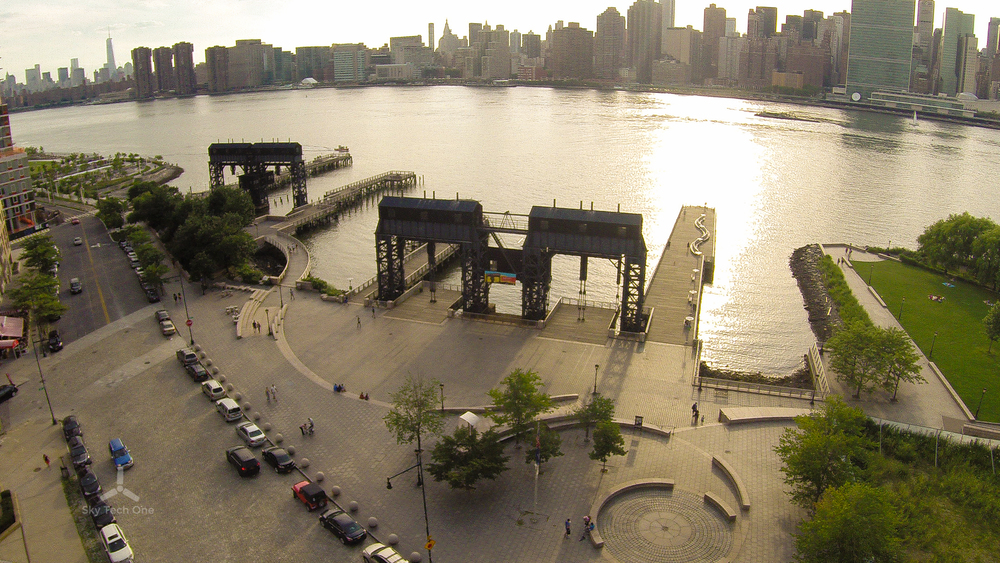 Sunset at Gantry Plaza State Park, Long Island City, Queens