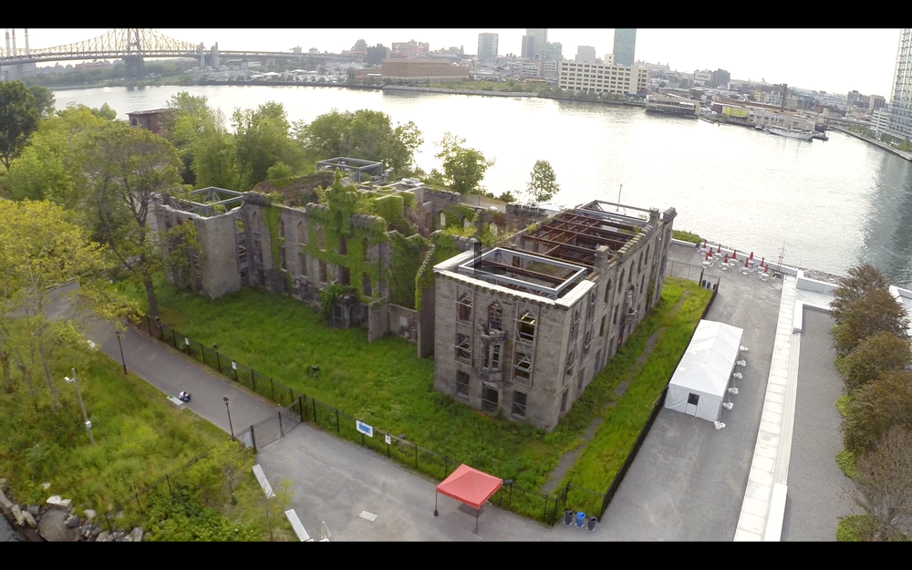 Smallpox Hospital in Roosevelt Island, New York NY