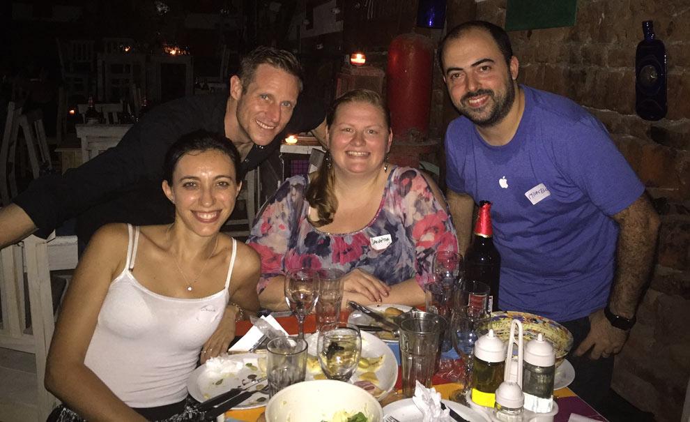 Loreda, Me, Samantha, Marcelo