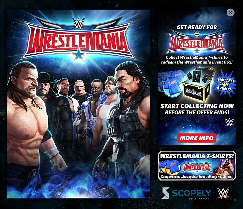 Scopely -  WWE: Champions   - Graphic Designer (Scopely, Inc.) - 2016