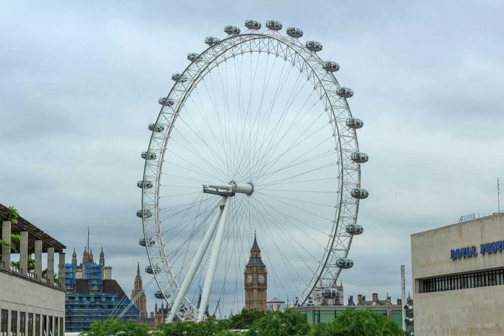 London Landmark Twofer - The London Eye and Big Ben