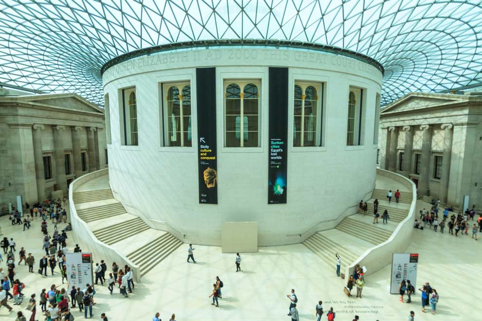 The British Museum, main rotunda