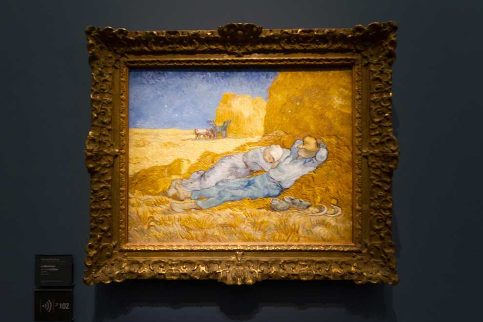 Van Gogh in the Musee d'Orsay