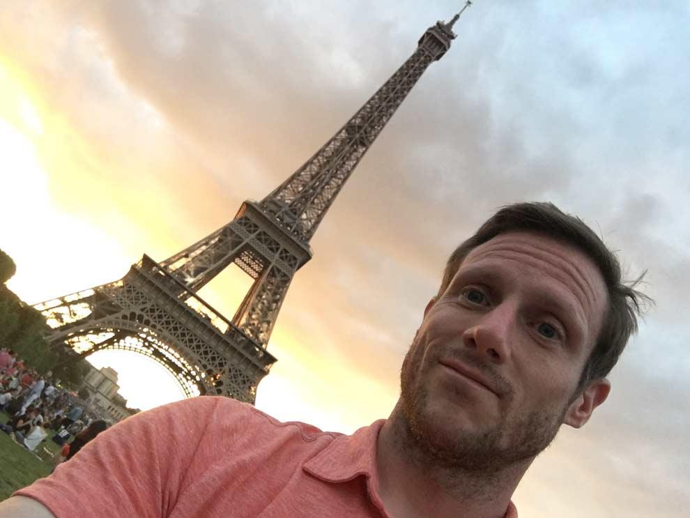 My romantic weekend in Paris