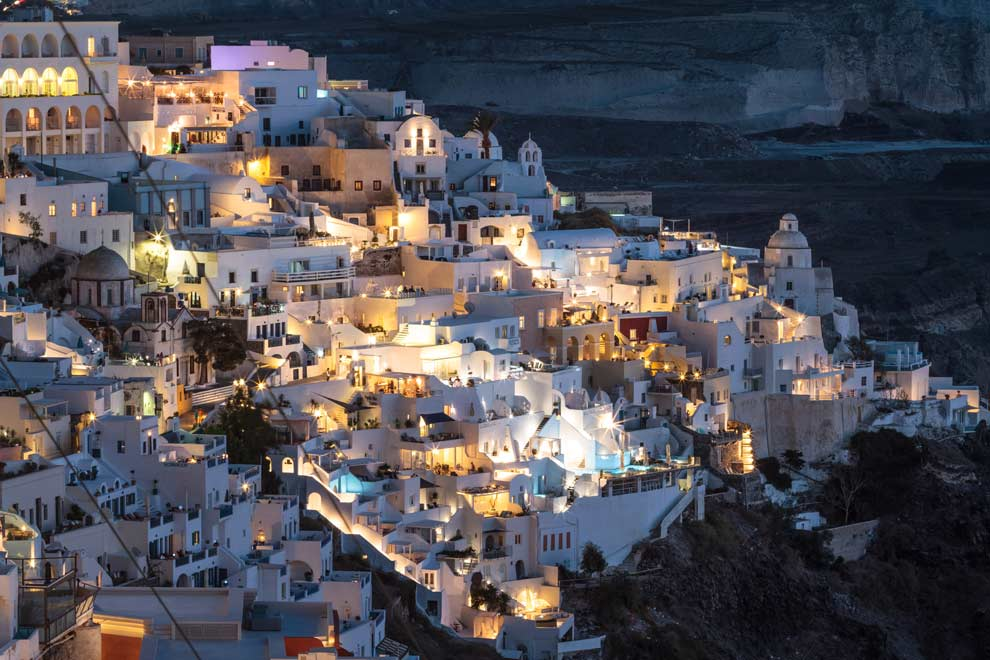 Fira, Santorini, Greece, September 2016