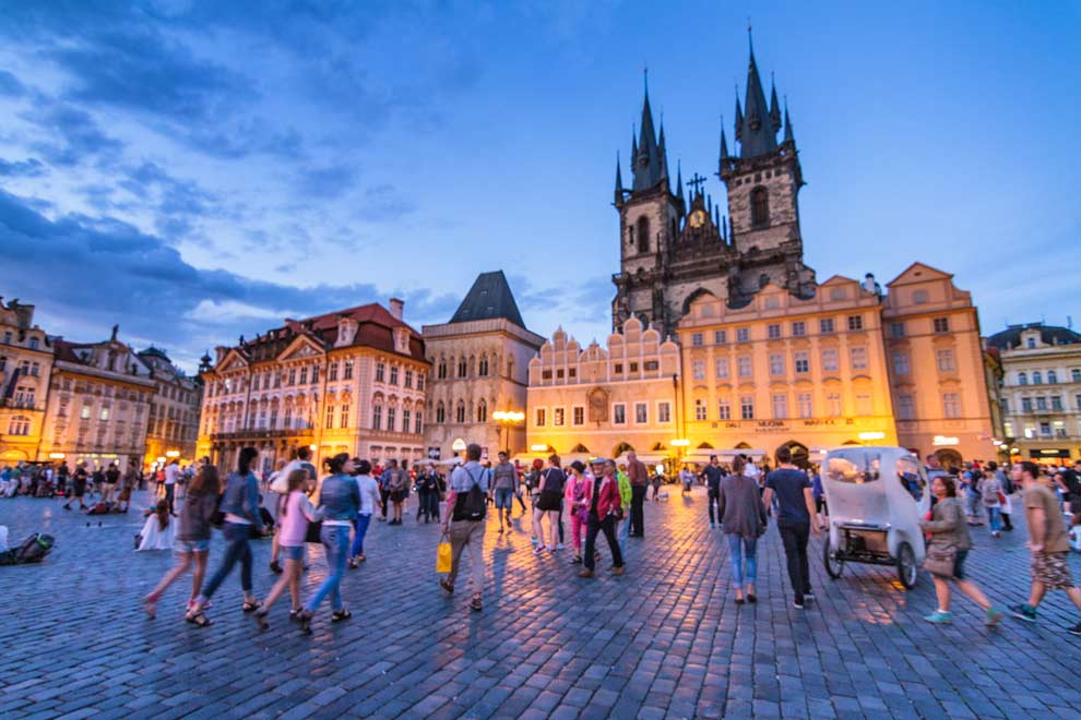 Prague, Czech Republic, August 2016