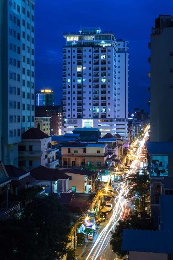 Phnom Penh, Cambodia, January 2017