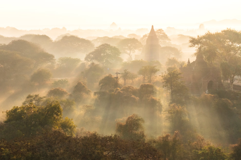Bagan, Myanmar, January 2017