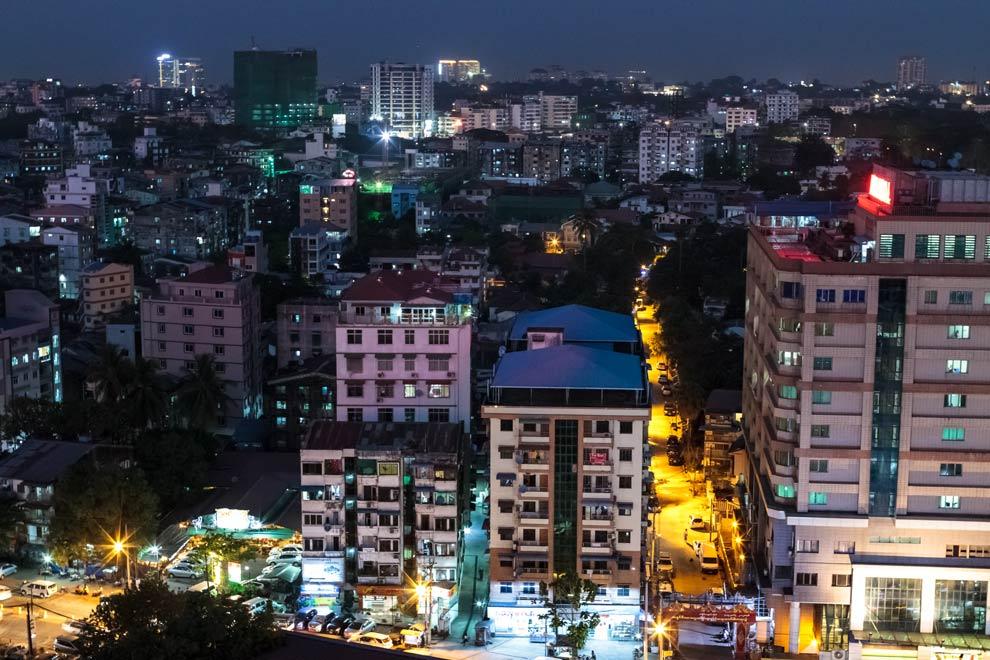 Yangon, Myanmar, January 2017