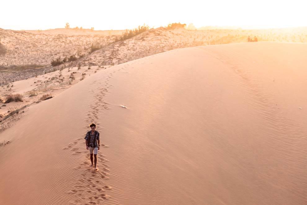 Red Sand Dunes, Mui Ne, Vietnam, February 2017