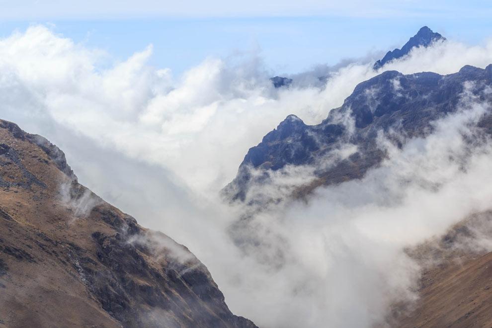 Andes Mountains, La Paz, Bolivia, May 2016