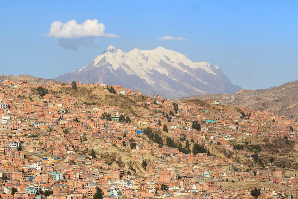 Mount Illimani, La Paz, Bolivia, May 2016