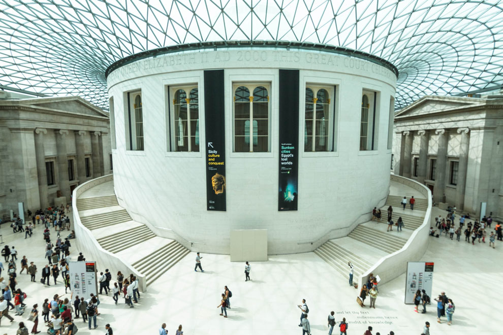 British Museum, London, England, July 2016