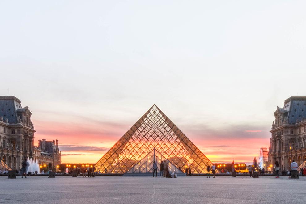 Le Louvre, Paris, France, July 2016