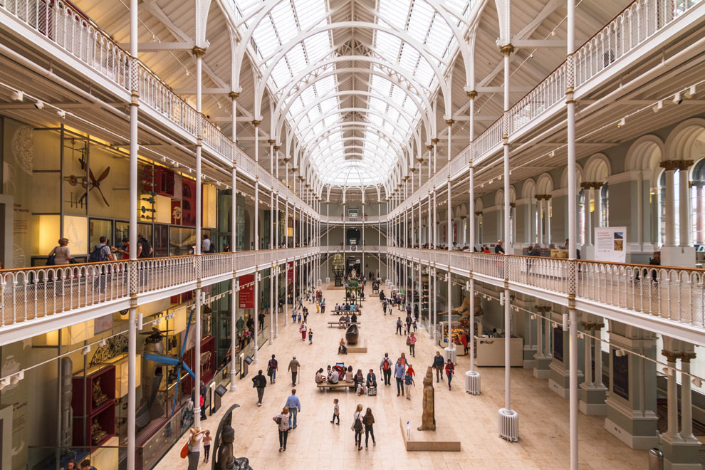 National Museum of Scotland, Edinburgh, Scotland, July 2016