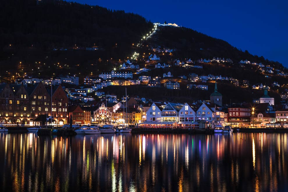Bryggen, Bergen, Norway, March 2017