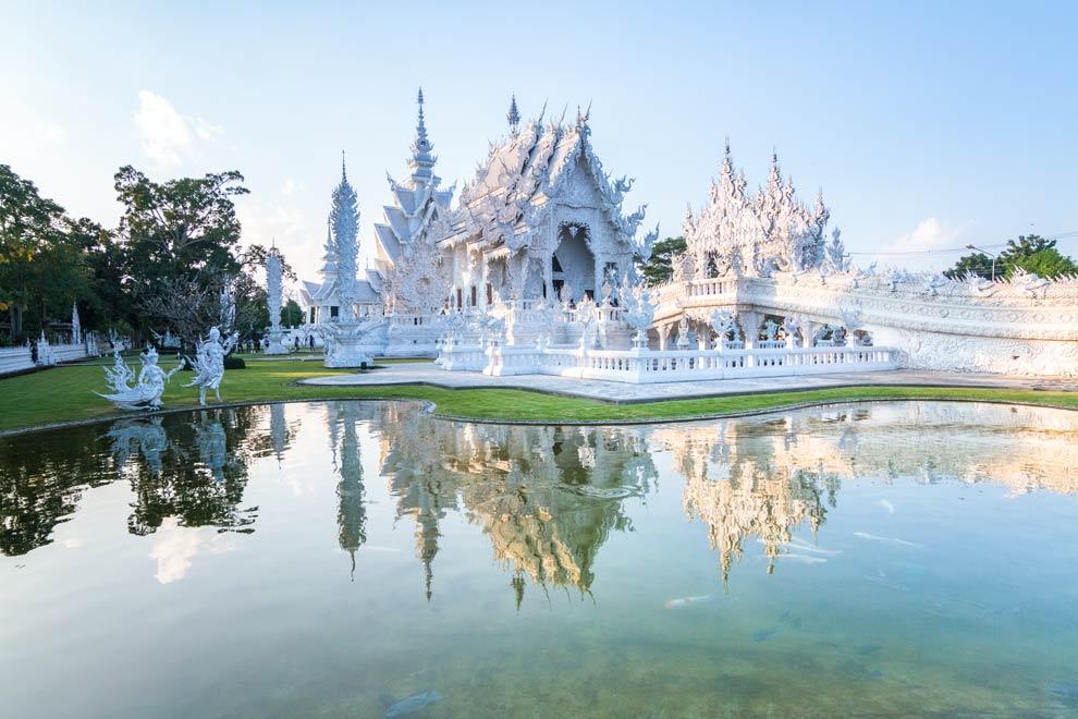 White Temple, Chiang Rai, Thailand, December 2016