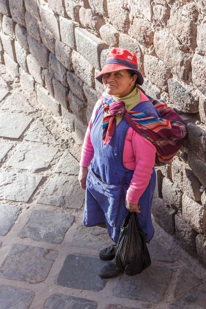 Cusquenan Woman, Cusco, Peru, June 2016