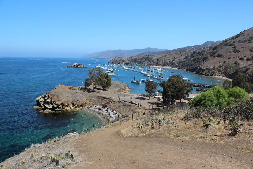 Emerald Bay, Catalina, California, September 2014
