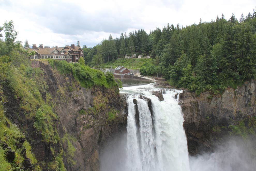 Snoqualmie Falls, Washington, June 2014
