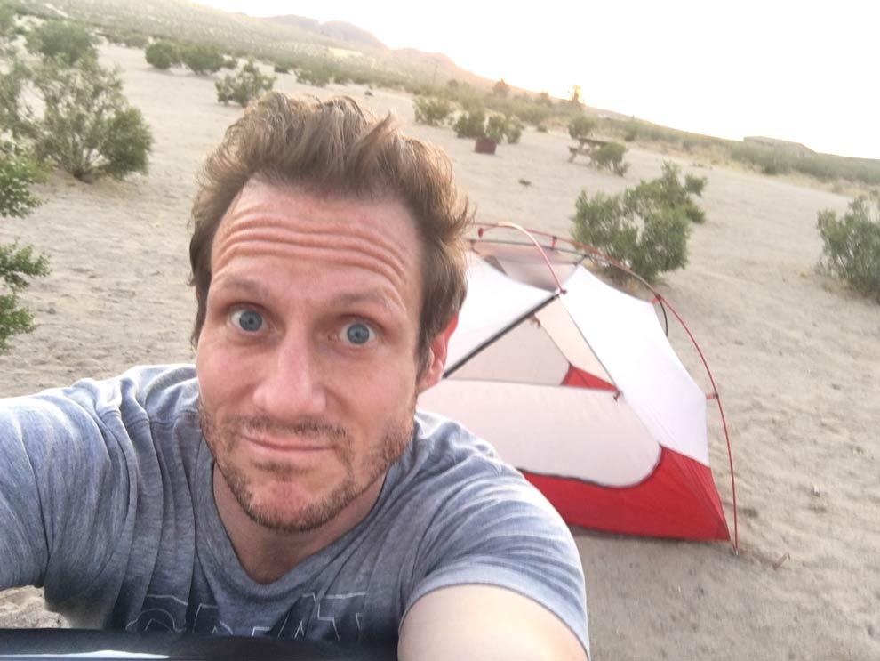 Campground #1, Joshua Tree Lake Campground