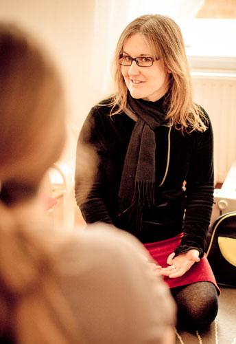 Sandra Schimpf, Hebamme