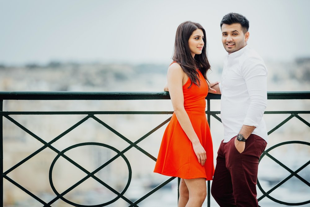 Engagement Photography in Malta