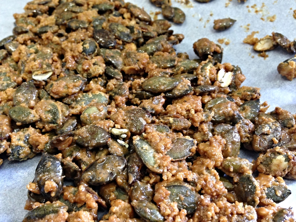 Pumpkin Seed Crunch