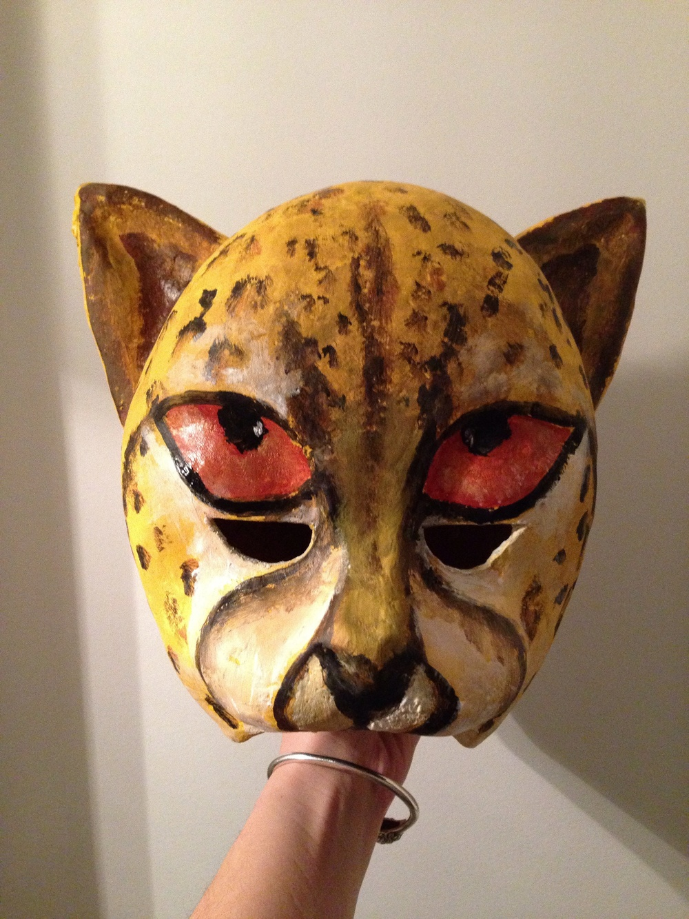 Cheetah mask for Basler Fasnacht