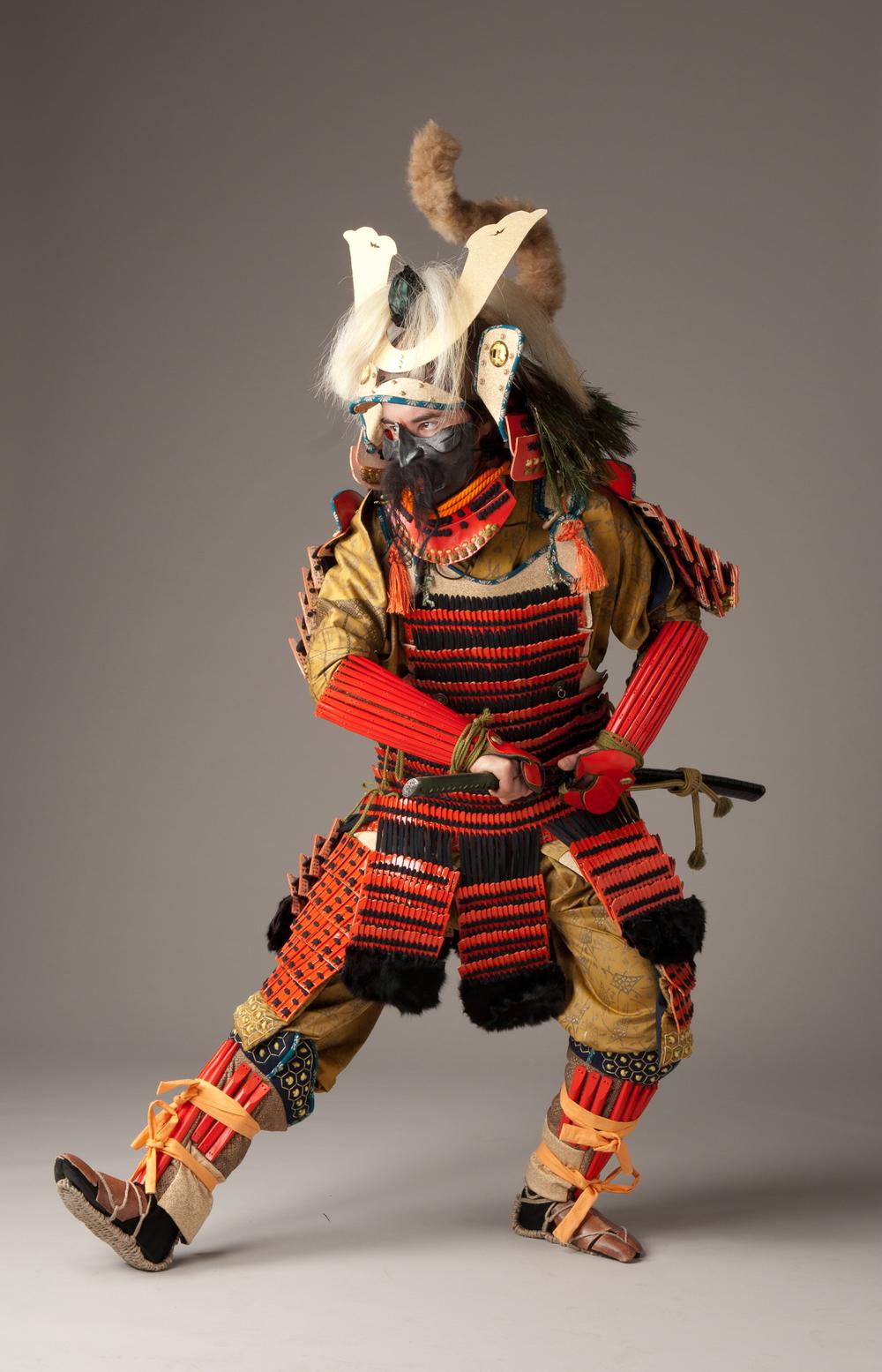 Samurai Costume Replica Model: Remi Walsarie