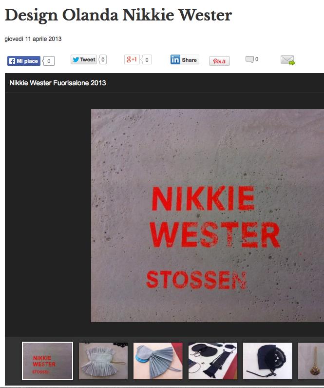 Designerblog | Design Olanda Nikkie Wester