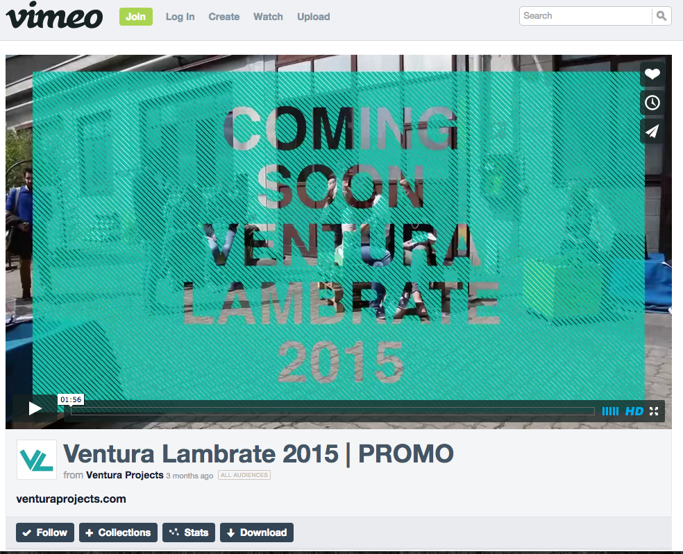 Ventura Lambrate | Promotion film 2015