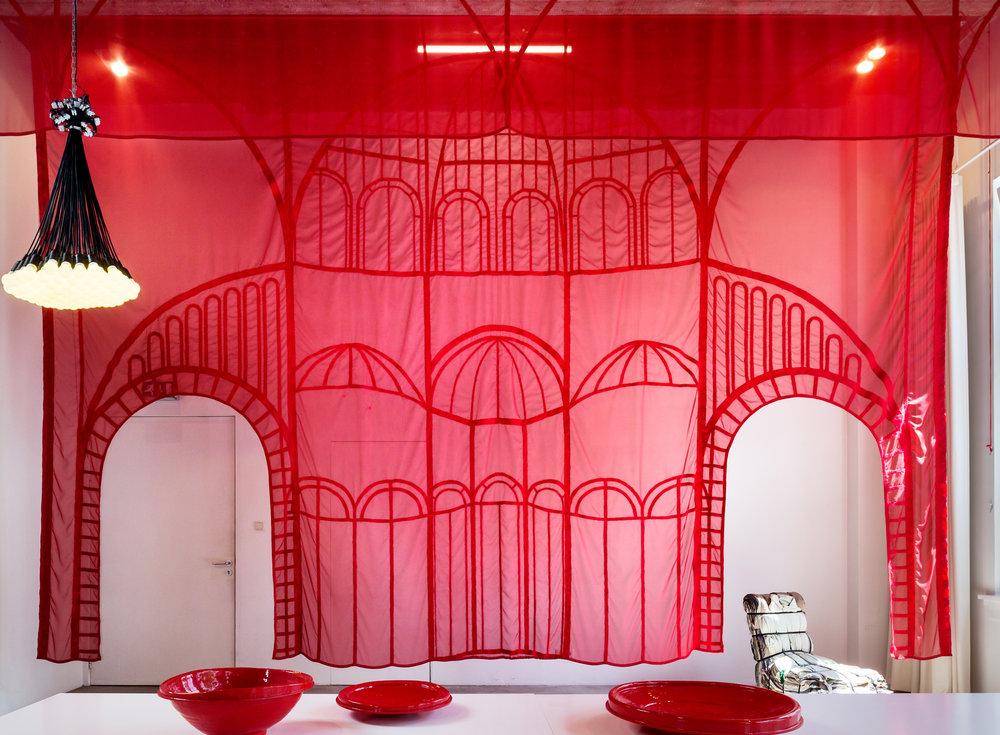 Interior Textile Design | Droog Serre - Garden room design, commissioned by Droog