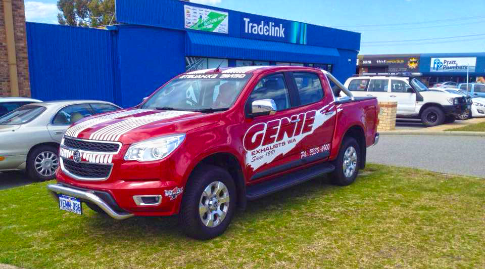This is the car that will be towing more than $200,000 worth of carbon across the nation for the World Rowing Masters Regatta in Ballarat. Thank you, Genie Exhaust.